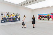 East Street 2014 and Mayonnaise 2015 by Dale Lewis - Saatchi Gallery's autumn show ICONOCLASTS: Art out of the Mainstream opens on 27th September 2017. It comes exactly 20 years after Charles Saatchi's exhibition Sensation which launched the careers of the Young British artists. ICONOCLASTS explores the work of 13 ground breaking British and international artists whose image-making practice is unorthodox.