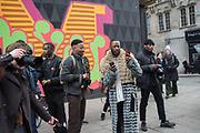 Scene outside Store studios, The Strond, Mens fashion week, London,  , 8 January 2018,