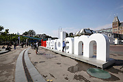 I Amsterdam sign by the Rijksmuseum Holland