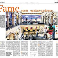 Parool 9 augustus 2013: herstart Fame