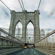 Driveway of the Brooklyn Bridge
