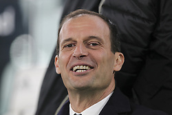 March 8, 2019 - Turin, Piedmont, Italy - Massimiliano Allegri, head coach of Juventus FC, before the Serie A football match between Juventus FC and Udinese Calcio at Allianz Stadium on March 08, 2019 in Turin, Italy..Juventus won 4-1 over Udinese. (Credit Image: © Massimiliano Ferraro/NurPhoto via ZUMA Press)