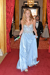 AMANDA HAWKYARD at the Dream Ball in aid of The Princes's Trust and Big Chance held at Lancaster House, St.James's, London on 7th July 2016.