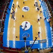 Anadolu Efes's players during their Turkish Basketball Spor Toto Super League match Anadolu Efes between Fenerbahce at the Abdi ipekci arena in Istanbul, Turkey, Thursday 24, December 2015. Photo by Aykut AKICI/TURKPIX