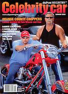 Magazine Cover - Celebrity Car Orange County Choppers
