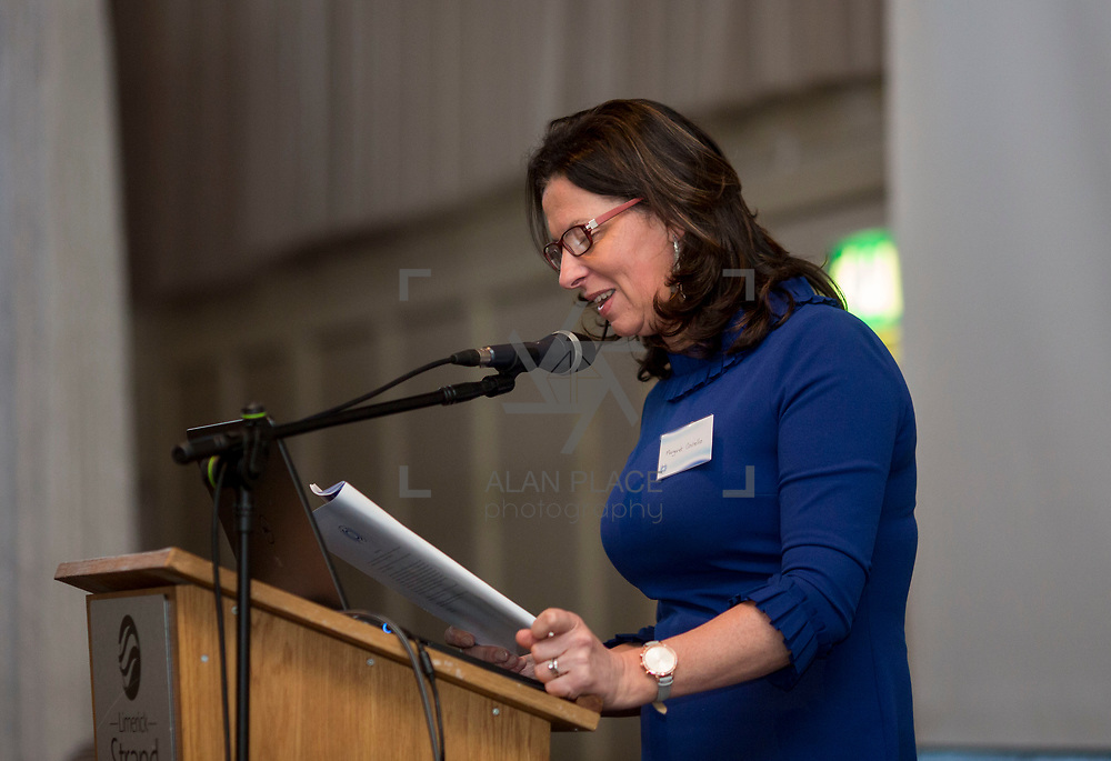 23.05.2018.       <br /> Today, the Institute of Community Health Nursing (ICHN) hosted its2018 community nurseawards in association withHome Instead Senior Care,at its annual nursing conference, in the Strand Hotel Limerick, rewarding public health nurses for their dedication to community care across the country. <br /> <br /> Pictured was Margaret Costello. Picture: Alan Place