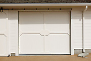 A detail of the storage shed photographed at Alviso Adobe Park in Milpitas, California, on March 19, 2013. (Stan Olszewski/SOSKIphoto)A