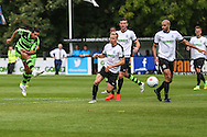 Forest Green Rovers Fabien Robert (26) shoots at goal during the Vanarama National League match between Dover Athletic and Forest Green Rovers at Crabble Athletic Ground, Dover, United Kingdom on 10 September 2016. Photo by Shane Healey.