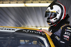 June 1, 2018 - Long Pond, Pennsylvania, United States of America - John Hunter Nemechek (42) hangs out in the garage prior to practice for the Pocono Green 250 at Pocono Raceway in Long Pond, Pennsylvania. (Credit Image: © Justin R. Noe Asp Inc/ASP via ZUMA Wire)