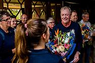 08-10-2017 - Foto van de finaledag van de Dutch Masters 2017, een European Senior Tour Event. Gespeeld op The Dutch in Spijk van 6 t/m 8 oktober.  Prijsuitreiking, Carl Mason