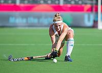 ANTWERPEN -  Ireland-Russia (3-2) . Belfius Eurohockey Championship (women) hockey. Hannah Matthews (Irl) WSP/ KOEN SUYK