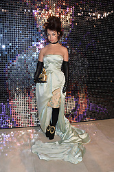 AURA DIONE at a private view of Isabella Blow: Fashion Galore! held at Somerset House, London on 19th November 2013.
