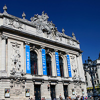 Europe, France, Lille. Opera House in Lille;