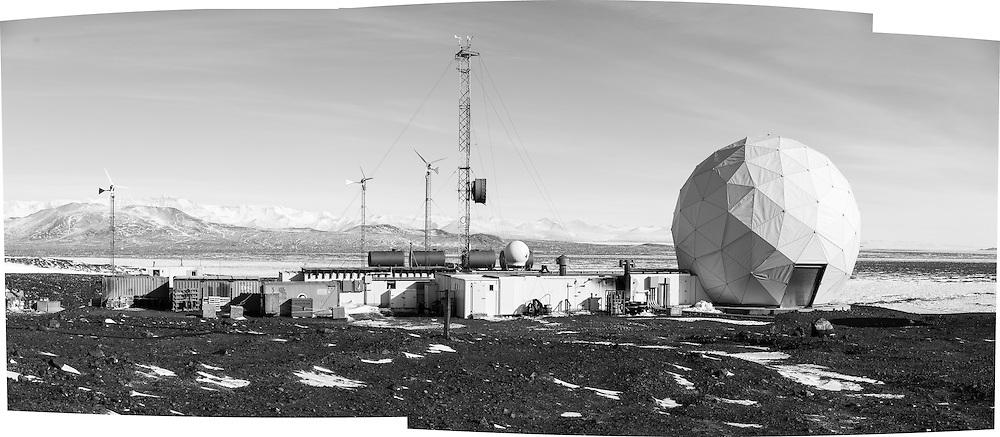 Panorama of Black Island Station
