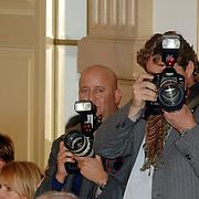 NLD/Amsterdam/20070304 - Modeshow Frans Molenaar voorjaar 2007, Reni van Maren en Edwin Smulders