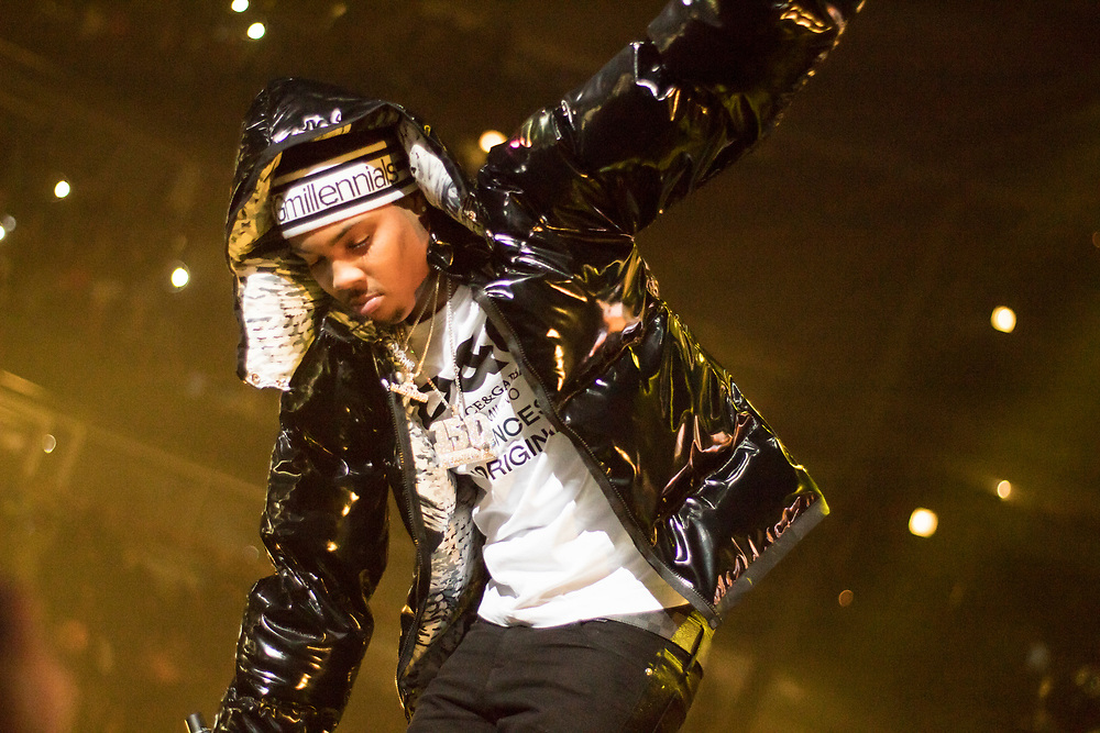 G Herbo performs at the WGCI Big Jam at the United Center in Chicago, IL on December 30, 2017.