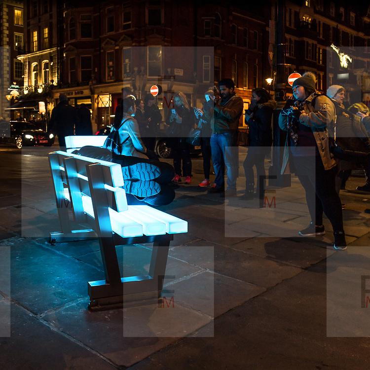 Lumiere London: il festival delle intallazioni luminose edizione 2018<br /> <br /> Lumiere London: the festival of the artwork  light 2018 edition.<br /> <br /> #6d, #photooftheday #picoftheday #bestoftheday #instadaily #instagood #follow #followme #nofilter #everydayuk #canon #buenavistaphoto #photojournalism #flaviogilardoni <br /> <br /> #london #uk #greaterlondon #londoncity #centrallondon #cityoflondon #londontaxi #londonuk #visitlondon<br /> <br /> #photo #photography #photooftheday #photos #photographer #photograph #photoofday #streetphoto #photonews #amazingphoto #blackandwhitephoto #dailyphoto #funnyphoto #goodphoto #myphoto #photoftheday #photogalleries #photojournalist #photolibrary #photoreportage #pressphoto #stockphoto #todaysphoto #urbanphoto<br /> <br /> #lumierelondon #light #festival #lightfestival #mayfair