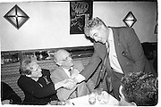 Inge Morath, Arthur Miller and Peter Mayer. Tribute to Arthur Miller. New York, April 1993. © Copyright Photograph by Dafydd Jones 66 Stockwell Park Rd. London SW9 0DA Tel 020 7733 0108 www.dafjones.com