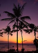 Sunset, Kepuhi Bay, Molokai<br />