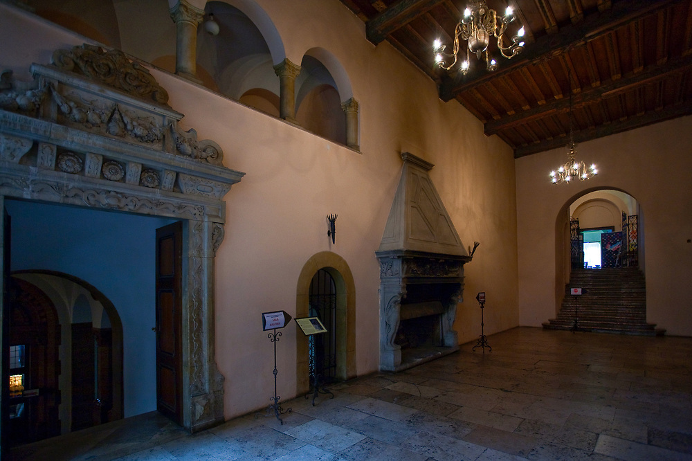 Zamek Książ - wnętrze, Polska<br /> Książ Castle - inside, Poland