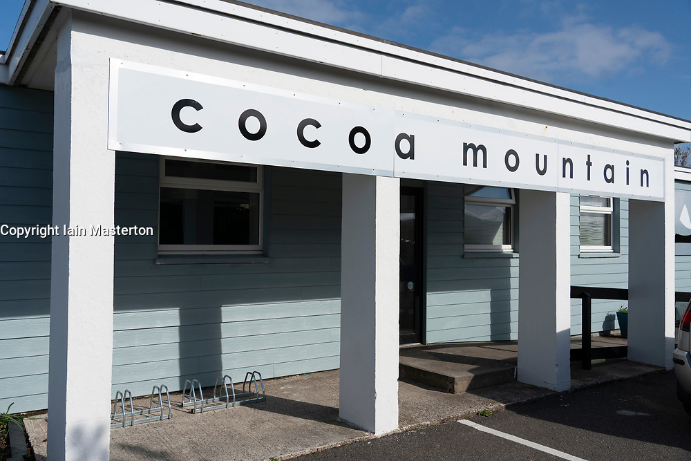 Cocoa Mountain cafe , Balnakeil Craft Village, Durness on the North Coast 500 scenic driving route in northern Scotland, UK