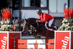 Smits Edwin, (SUI), Copain Du Perchet <br /> BMO Nations Cup<br /> Spruce Meadows Masters - Calgary 2015<br /> © Hippo Foto - Dirk Caremans<br /> 12/09/15