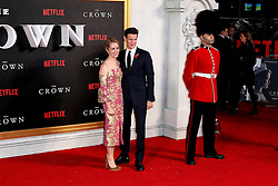 November 1, 2016 - London, UK - London, UK, Claire Foy; Matt Smith, The Crown - Global premiere, (Credit Image: © Richard Goldschmidt/London News Pictures via ZUMA Wire)