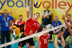 20170525 NED: 2018 FIVB Volleyball World Championship qualification, Koog aan de Zaan<br />Pavel Mocanu (11) of Republic of Moldova <br />©2017-FotoHoogendoorn.nl / Pim Waslander