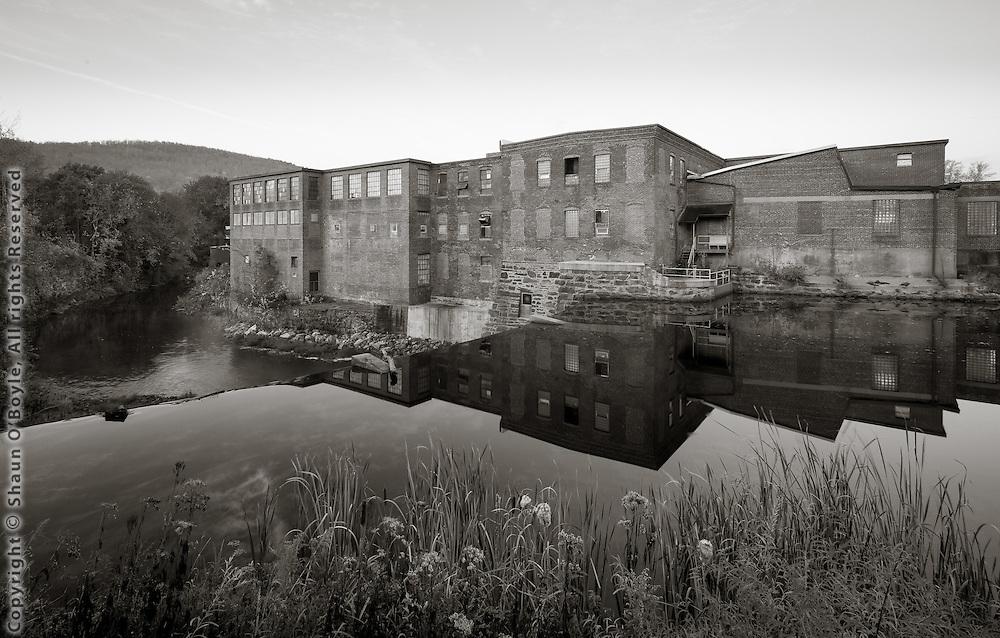 Byron Weston Mill, East Branch Housatonic River, Dalton MA