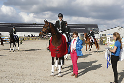 Walravens Stephanie (BEL) - Esteban M<br /> SBB Competitie Jonge Paarden - Nationaal Kampioenschap - Kieldrecht 2014<br /> © Dirk Caremans