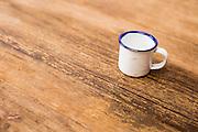 Belo Horizonte_MG, Brasil.<br /> <br /> Detalhe de caneca esmaltada.<br /> <br /> A cup detail.<br /> <br /> Foto: BRUNO MAGALHAES / NITRO