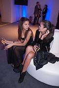 BEATRICE SANTANA; ; ANA MARQUES; , The Vogue Festival 2012 in association with Vertu- cocktail party. Royal Geographical Society. Kensington Gore. London. SW7. 20 April 2012.