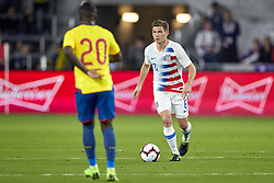 March 21, 2019 - Orlando, FL, U.S. - ORLANDO, FL - MARCH 21: United States midfielder Wil Trapp (6) dribbles the ball in game action during an International friendly match between the United States and Ecuador on March 21, 2019 at Orlando City Stadium in Orlando, FL. (Photo by Robin Alam/Icon Sportswire) (Credit Image: © Robin Alam/Icon SMI via ZUMA Press)