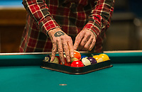 Robbie Mills 8 Ball Tournament at the Rod and Gun in Laconia.    ©2019 Karen Bobotas Photographer