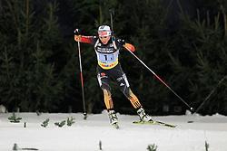 28.12.2013, Veltins Arena, Gelsenkirchen, GER, IBU Biathlon, Biathlon World Team Challenge 2013, im Bild Andrea Henkel (Deutschland / Germany) // during the IBU Biathlon World Team Challenge 2013 at the Veltins Arena in Gelsenkirchen, Germany on 2013/12/28. EXPA Pictures © 2013, PhotoCredit: EXPA/ Eibner-Pressefoto/ Schueler<br /> <br /> *****ATTENTION - OUT of GER*****