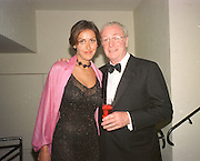 Michael Caine and his daughter Natasha Caine. Miramax post Bafta's party. Noble Rot. 9 April 2000. © Copyright Photograph by Dafydd Jones 66 Stockwell Park Rd. London SW9 0DA Tel 020 7733 0108 www.dafjones.com