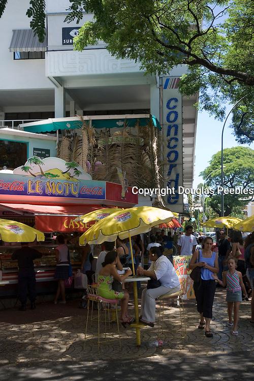 Downtown, Papeete, Tahiti, French Polynesia<br />