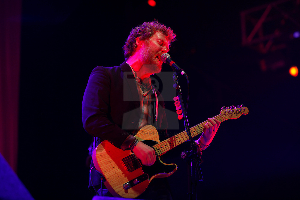 Glen Hansard is pictured as The Frames play MAIN STAGE at the Electric Picnic 2010. Pic Andres Poveda
