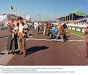 Earl & Countess of March & Kinrara. William Gordon-Lennox & Charlie Settrington. Goodwood Revival Motor Race Meeting. 19/9/98<br />© Copyright Photograph by Dafydd Jones<br />66 Stockwell Park Rd. London SW9 0DA<br />Tel 0171 733 0108