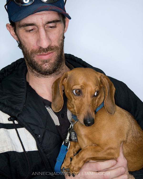 Homeless and their pets on Wednesday, Feb. 23, 2011