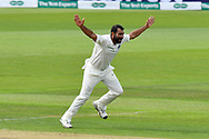 Wicket - Mohammed Shami of India appeals for an lbw against  Ben Stokes of England who is given out during the first day of the 4th SpecSavers International Test Match 2018 match between England and India at the Ageas Bowl, Southampton, United Kingdom on 30 August 2018.