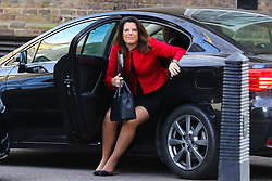 © Licensed to London News Pictures. 26/03/2019. London, UK. Caroline Nokes - Minister of State for Immigration arrives in Downing Street for the weekly Cabinet meeting. Photo credit: Dinendra Haria/LNP