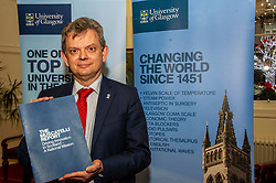 Pictured: Professor Sir Anton Muscatelli <br /><br />Professor Sir Anton Muscatelli was joined by Finance Secretary Derek Mackay as he launched his report on how Scotland's higher education sector can maximise its impact on economic growth. Commissioned by Mr Mackay, the report will make recommendations for the sector, industry, the Scottish Government and its agencies<br /><br /> Ger Harley   EEm 27 November 2019