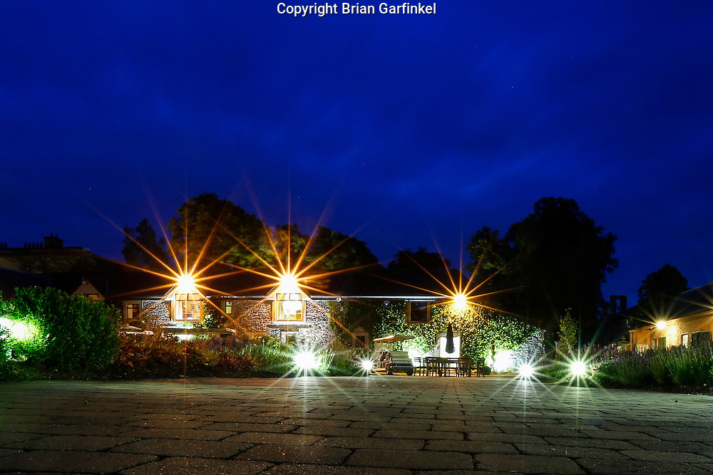 The stables are seen at dusk during the Mulryan/Caulfield family reunion at Ardenode Stud, County Kildare, Ireland on Sunday, June 23rd 2013. (Photo by Brian Garfinkel)