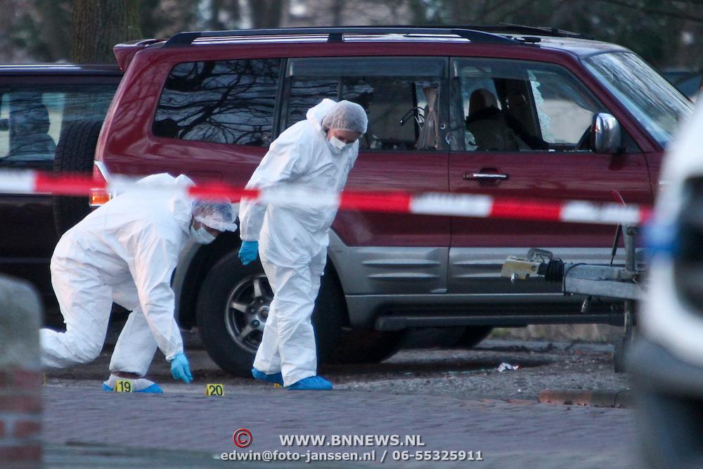 NLD/Amsterdam/20110221 - Liquidatie 64 jarige Staley Hillis in Amsterdam