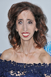 Lizzie Velasquez arrives at We Day California 2017 held at The Forum in Inglewood, CA on Thursday, April 27, 2017. (Photo By Sthanlee B. Mirador) *** Please Use Credit from Credit Field ***