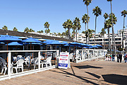 Fisherman's Oyster Bar on the Pier in San Clemente
