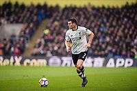 LONDON, ENGLAND - MARCH 31: (7) James Milner of Liverpool during the Premier League match between Crystal Palace and Liverpool at Selhurst Park on March 31, 2018 in London, England.
