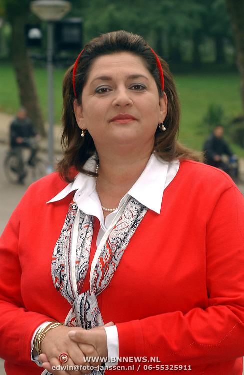 NLD/Volendam/20051005 - Persviewing Gooise Vrouwen, Annet Malherbe