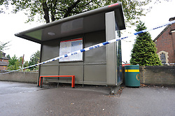 © Licensed to London News Pictures. 13/09/2013<br /> Police are investigating after a 35-year-old woman was sexually assaulted near a church in Orpington this morning (13.09.2013). <br /> It happened near the bus stop by Orpington Methodist Church in Sevenoaks Road,Orpington at around 12.15am. <br /> Officers are at the scene and have cordoned off the area around the bus stop<br /> Photo credit :Grant Falvey/LNP